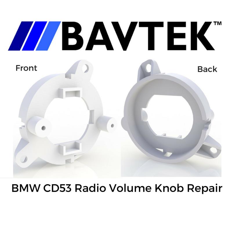 BMW E46 CD53 CD Player Radio Volume Knob Repair Service
