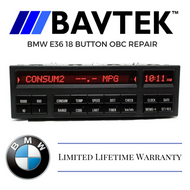 BMW E36 18 Button OBC Repair