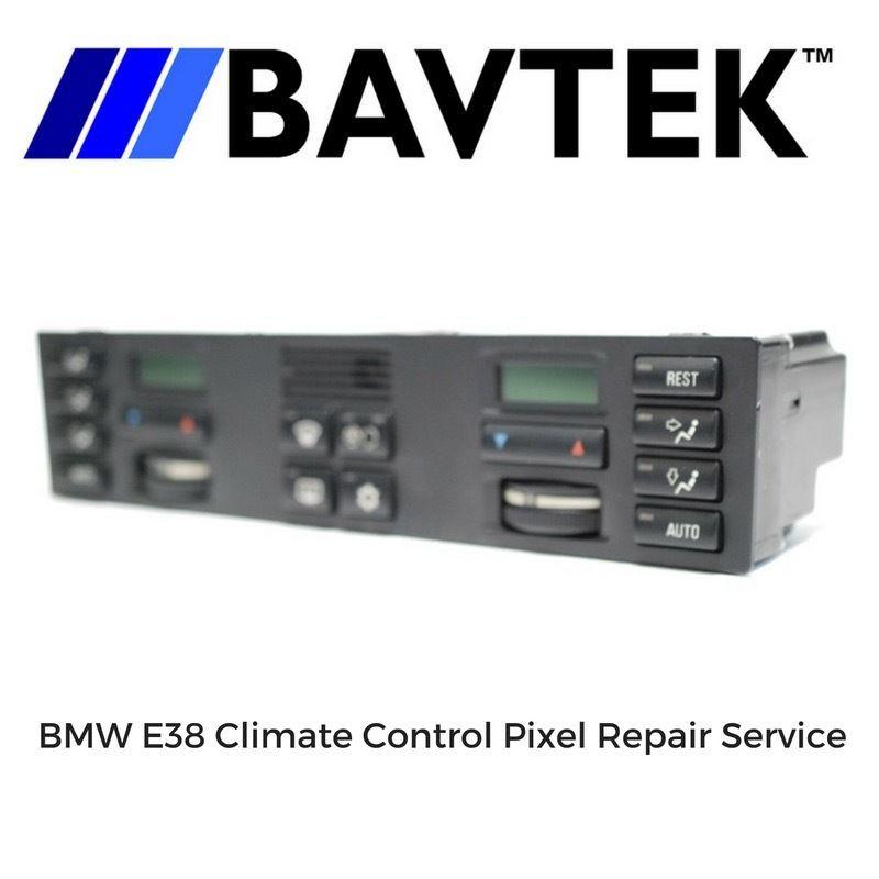 BMW AC HVAV Climate Control Repair Service E38