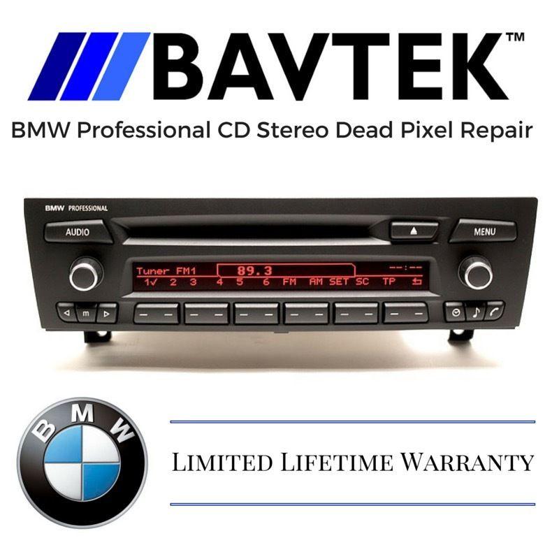Bmw Cd73 Professional Business Cd Stereo Dead Pixel Repair Czech