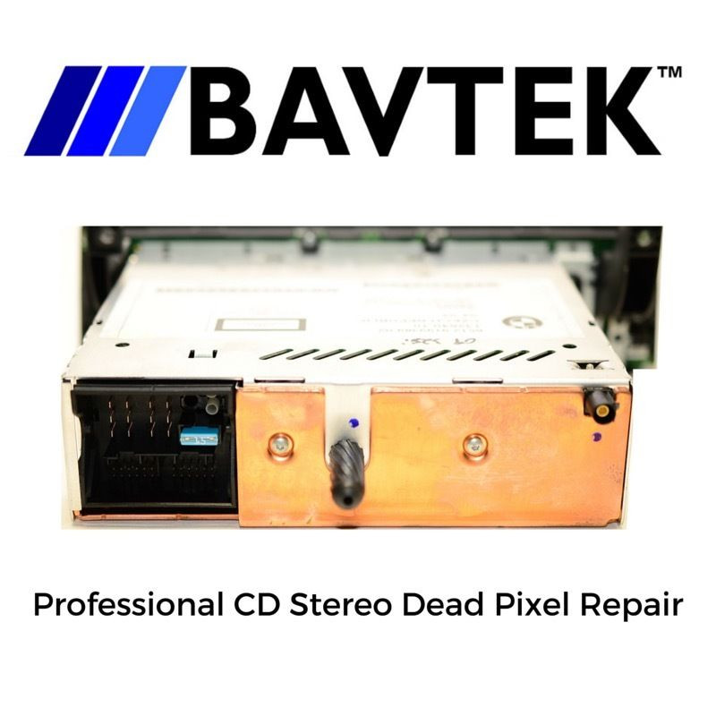 BMW CD73 Professional Business CD Stereo Dead Pixel Repair (Czech Republic  Model)