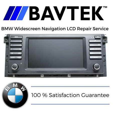 BMW Navigation LCD Repair Service