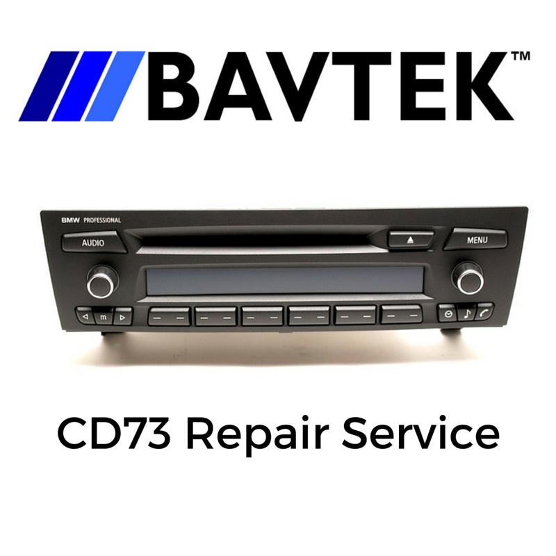 BMW 3 Series Alpine CD73 Radio LCD Dead Pixel Repair