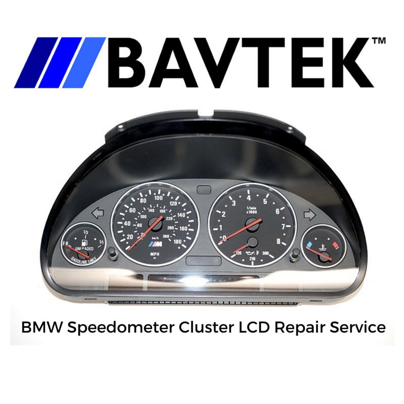 BMW Speedometer Cluster LCD Display Dead Pixel Repair - E38 E39 E53 X5