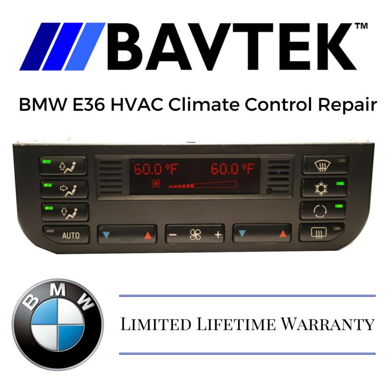 BMW AC HVAC Climate Control Repair Service E36