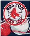 Boston Red Sox Bat and Ball