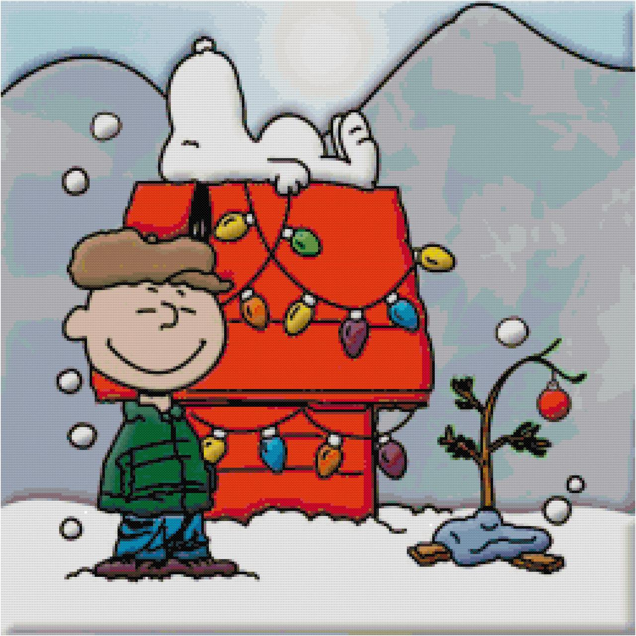 Snoopy And Charlie Brown Christmas Tree Loading Zoom