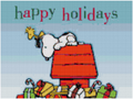 Snoopy Happy Holidays