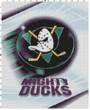 Anaheim Mighty Ducks Puck