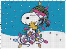 Snoopy Woodstock Holiday Lights