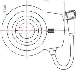 "Azure Photonics AZURE-5020DM 2/3"" 50mm F2.0 DC Auto-Iris C-Mount Lens, 2 Megapixel Rated"