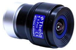 "heia Technologies MY110M 1/2.5"" 1.68mm F1.8 Manual Iris C-Mount Lens, 3 Megapixel Rated, IR Corrected (Day/Night), <1% Distortion"