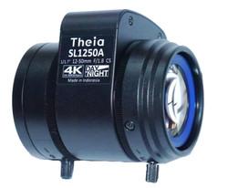 "Theia Technologies SL1250A 1/1.7"" 12-50mm F1.8 DC Auto-Iris Vari-Focal CS-Mount Lens, IR Corrected (Day/Night), 4K Ultra HD, 12 Megapixel Rated"