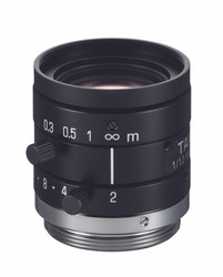 "Tamron M112FM16	1/1.2"" 16mm F2.0 Manual Iris C-Mount, 5 Megapixel Rated"