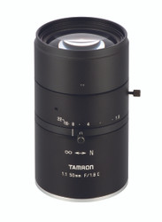 "Tamron M111FM50 1.1"" 50mm F1.8 Manual Iris C-Mount, 12 Megapixel Rated"