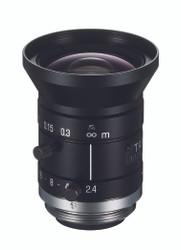 "Tamron M112FM08 1/1.2"" 8mm F2.4 Manual Iris C-Mount Lens, Compact Size, 5 Megapixel Rated"