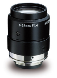 "Kowa LM25JC1MS 2/3"" 25.0mm F1.4 Manual Iris C-Mount Lens w/ Locking Screws and Marking Settings for Iris and Focus"