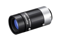 """Fujinon HF50XA-5M 2/3"""" 50mm F2.4 Manual Iris C-Mount Lens, Compact Size, Low Distortion, 5 Megapixel Rated (for 3.45 Micron Pixel Pitch)"""