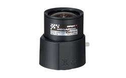 "Computar AG4Z2812KCS-MPIR 1/2.7"" 2.8-10mm F1.2 P-Iris Vari-Focal CS-Mount Lens, 3 Megapixel Rated, IR Corrected (Day/Night)"