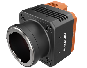 HIK Vision MV-CH250-20TM-F-NF 25MP Monochrome Camera, 5120×5120, 4.5um, PYTHON 25K 23mm x 23mm CMOS, Global Shutter, 40fps Mono8, Dimension: 74mm×74mm×113mm
