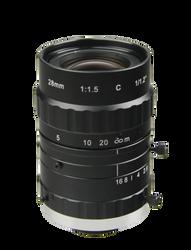 "AZURE Photonics AZURE-DN2815SL3M 1/1.2"" 28mm F1.5 Manual Iris C-Mount Lens, 3 Megapixel Rated, Day/Night"