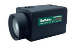 "Yamano Y18Z86RAFP5E 1/2"" 8.6-154mm F2.5 Motorized Zoom & Focus w/ Video Auto-Iris C-Mount Lens, Presets, Day/Night IR Corrected 950nm, Auto-Focus, Analog Control, 1 Megapixel Rated (SD)"