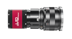 "AVT Prosilica GT5400 4/3"" Progressive Scan Monochrome CMOS (Sony IMX387) Camera, 16.9 Megapixel, 5472 x 3084, 7.1 fps, Auto-Iris (P-Iris & DC), GigE Output, Selectable Mount"