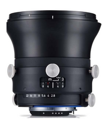 Zeiss Interlock 2.8/18 ZF.2 18mm F2.8 Manual Focus & Iris F-Mount Lens, 43.3mm Image Circle, 42 Megapixel Rated
