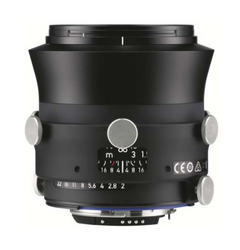 Zeiss Interlock 2/35 ZF.2 35mm F2.8 Manual Focus & Iris F-Mount Lens, 43.3mm Image Circle, 42 Megapixel Rated