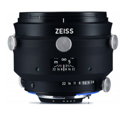 Zeiss Interlock 2/50 ZF.2  50mm F2.0 Manual Focus & Iris F-Mount Lens, 43.3mm Image Circle, 42 Megapixel Rated