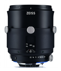 Zeiss Interlock 2/100 ZF.2  100mm F2.0 Manual Focus & Iris F-Mount Lens, 43.3mm Image Circle, 42 Megapixel Rated