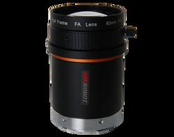 HIKROBOT MVL-LF8040M-F Full Frame 80mm F4.0 Manual Focus & Iris F-Mount (Nikon Mount) Lens, 46mm Image Circle, Low Distortion, 42 Megapixel Rated