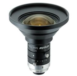 "Computar M0528-MPW3 2/3"" 5mm F2.8 Manual Iris C-Mount Lens, Ultra Low Distortion, 6 Megapixel Rated"