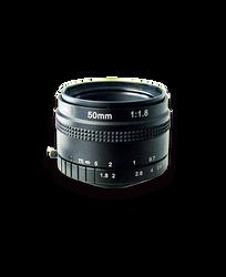 AZURE Photonics AZURE-5018MT 50mm F1.8 Manual Iris T-Mount (M42x1) Lens, 43mm Image Circle, 5 Megapixel Rated