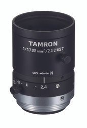 "Tamron M117FM25 1/1.7"" 25mm F2.4 Manual Iris C-Mount Lens, 6 Megapixel Rated"