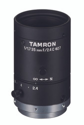 "Tamron M117FM35 1/1.7"" 35mm F2.4 Manual Iris C-Mount Lens, 6 Megapixel Rated"