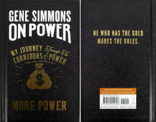 Kiss Gene Simmons On Power Hard Cover Book