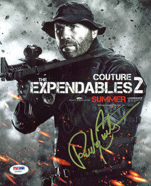 Randy Couture UFC The Expendables Authentic Signed 8x10 Photo PSA/DNA #Z40867
