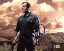 Kiefer Sutherland 24 Authentic Signed 8x10 Photo Autographed BAS #D17929