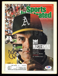 Athletics Tony La Russa Signed 1990 Sports Illustrated Magazine PSA/DNA #Q12310