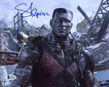 Stefan Kapicic Deadpool Authentic Signed 8x10 Photo Autographed BAS Witnessed 7
