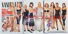 Sarah Jessica Parker & Patricia Arquette Signed Vanity Fair Magazine Cover BAS