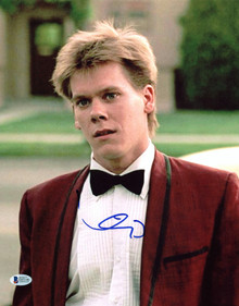 Kevin Bacon Footloose Authentic Signed 11x14 Photo Autographed BAS #E85146