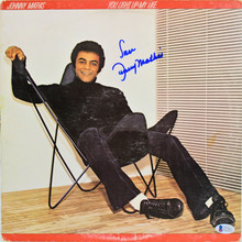 Johnny Mathis Authentic Signed You Light Up My Life Album Cover BAS #E37857