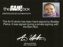 Bradley Pierce Jumanji Authentic Signed 8x10 BAM BOX Photo Autographed