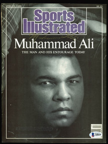 Muhammad Ali 1991 Authentic Signed Sports Illustrated Magazine Cover BAS #A88699