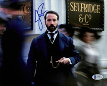 Jeremy Piven Mr. Selfridge Authentic Signed 8x10 Photo Autographed BAS #F09816