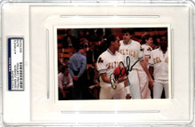 Celtics Dennis Johnson Authentic Signed 4x6 Photo Autographed PSA/DNA Slabbed