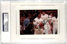 Celtics Dennis Johnson Authentic Signed 4x6 Photo Autographed PSA/DNA Slabbed