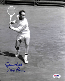 Rod Laver Tennis Authentic Signed 8x10 Photo Autographed PSA/DNA #AA43352